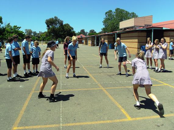 Picture: Junior School Down-ball Competition
