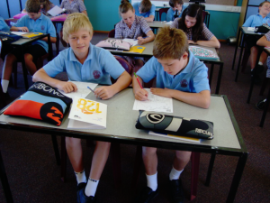 Picture: Year 7's in Class