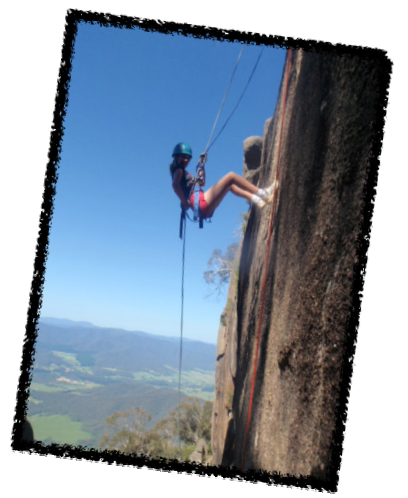 Pictures: Year 9 Camp - Abseiling